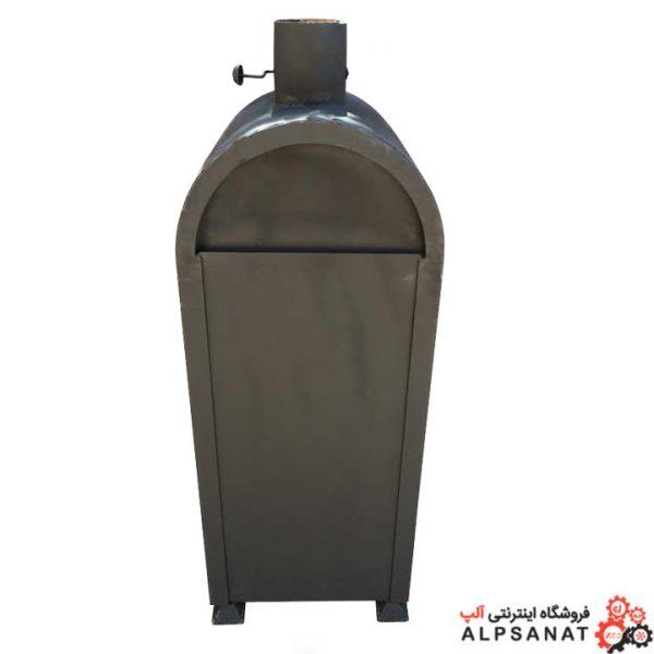 بخاری هیزمی آلپ مدل البرز03