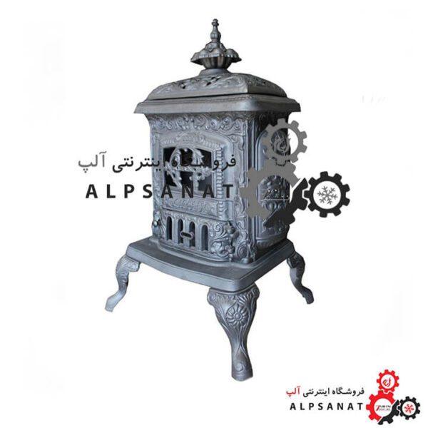 بخاری هیزمی چدنی آلپ طرح اروس 01