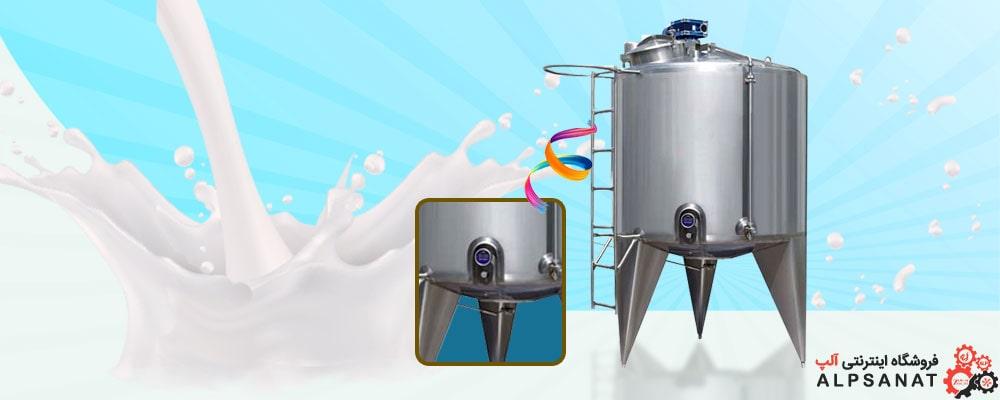 تانکر حمل شیر 500 لیتری آلپ