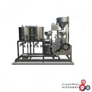 خط تولید شیر سویا