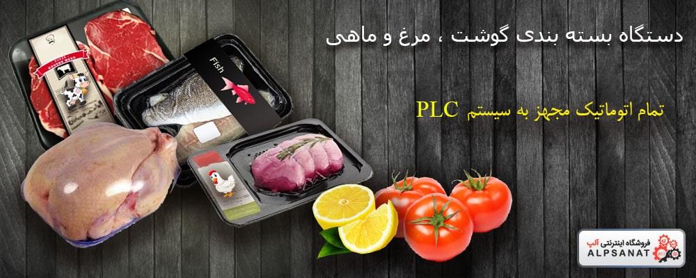 دستگاه بسته بندی گوشت و مرغ و ماهی