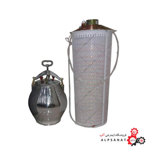 دستگاه گلاب گیر برقی 15 لیتر