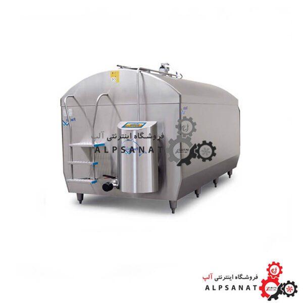مخزن حمل شیر با کندانسور همزن 800 کیلو